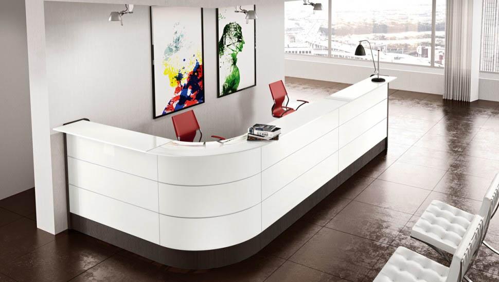 Reception Ufficio Bianco : Banco reception per ufficio bergamo lombardia of ufficio reception