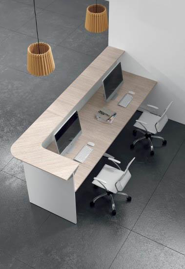 Banconi reception milano for Reception per ufficio