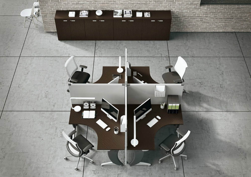 arredo operativo PLEXA call center